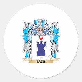 Brasão de Laur - crista da família Adesivo