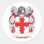 Brasão de Lorenzi (crista da família) Adesivo