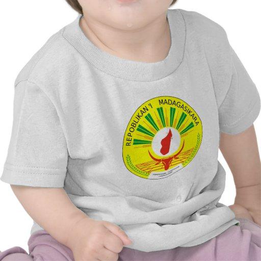 Brasão de Madagascar Camiseta