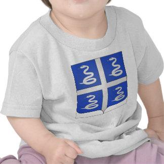 Brasão de Martinica (France) Camisetas