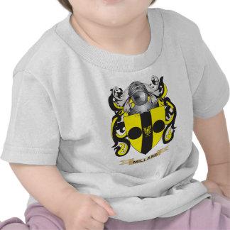 Brasão de Millard (crista da família) Camisetas