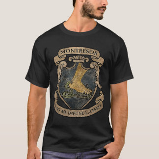 Brasão de Montresor Camiseta