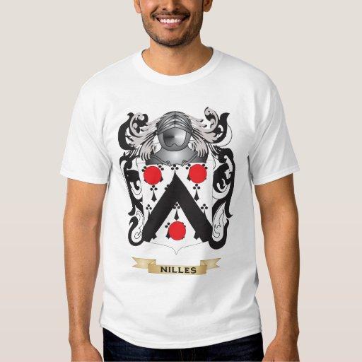 Brasão de Nilles (crista da família) T-shirts