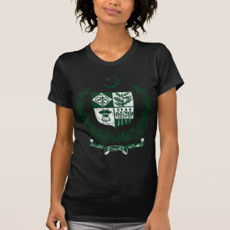 Brasão de Paquistão T-shirt