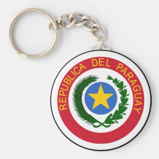 Brasão de Paraguai Chaveiro