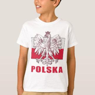 Brasão de Polska do Polônia Camiseta