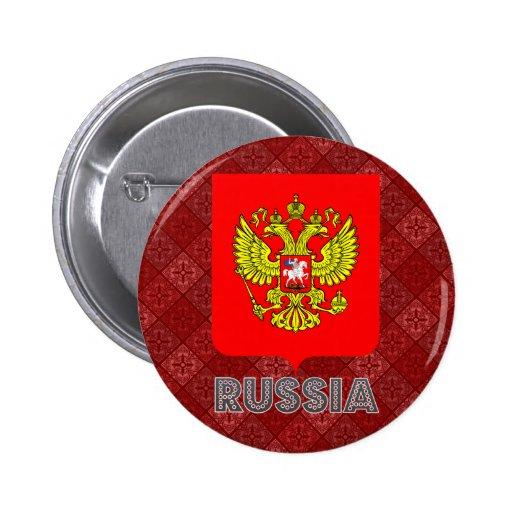 Brasão de Rússia Pins