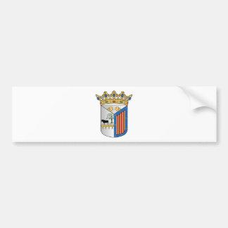 Brasão de Salamanca (espanha) Adesivo Para Carro