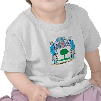 Brasão de Schulz - crista da família Camiseta
