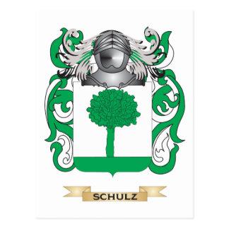 Brasão de Schulz crista da família Cartao Postal