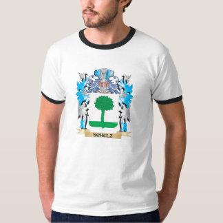 Brasão de Schulz - crista da família Tshirts