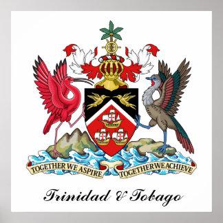 Brasão de Trinidad and Tobago Pôster