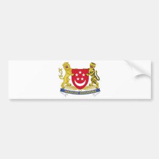 Brasão do emblema do 新加坡国徽 de Singapore Adesivo Para Carro
