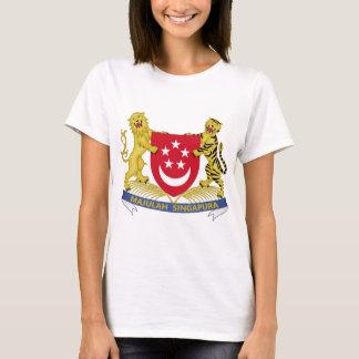 Brasão do emblema do 新加坡国徽 de Singapore Camiseta