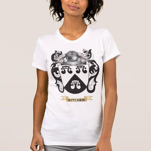 Brasão Kitchen-2 (crista da família) Camisetas