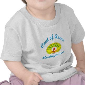 Brasão Madagascar Camisetas