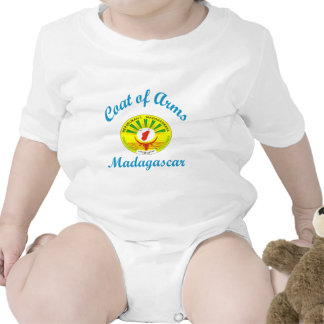 Brasão Madagascar Macacão