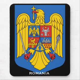 Brasão Mousepad de Romania