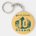 Brasil 10 chaveiro