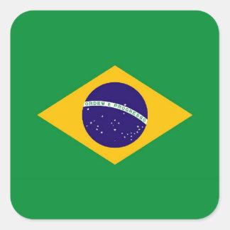 BRASIL ADESIVO QUADRADO