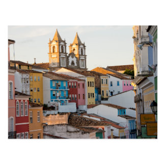 Brasil, Baía, Salvador, a cidade a mais velha Cartão Postal