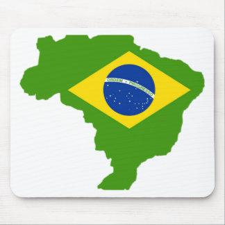 Brasil bandeira Brazil Mousepad