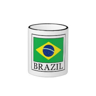 Brasil Caneca Com Contorno