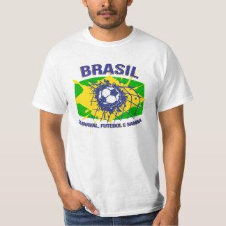 Brasil Carnaval, samba de Futebol e ostenta o Camisetas