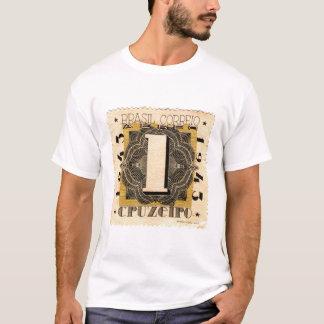 Brasil Correio 1 Cruzeiro 1943 Camiseta