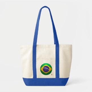Brasil - futebol de Verde Amarela Bolsas Para Compras