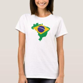 Brasil para as senhoras 2 camiseta