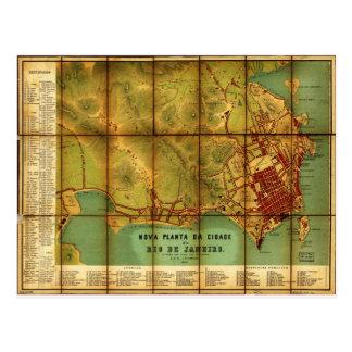 Brasil Rio de Janeiro. 1867 Cartão Postal