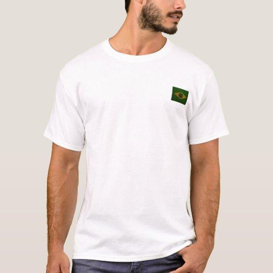Brasil Weed Love! Camiseta