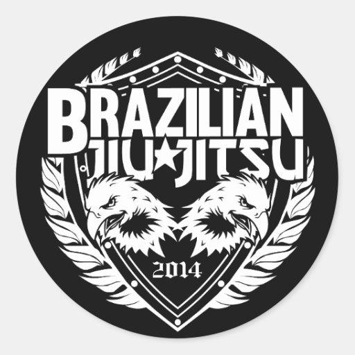 Advance Artesanato Osasco ~ Brasileiro customizável Jiu Jitsu Adesivo Zazzle