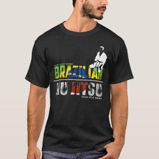 Brasileiro customizável Jiu-Jitsu Camiseta