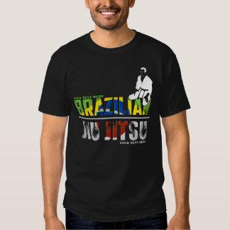 Brasileiro customizável Jiu-Jitsu T-shirt