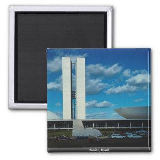Brasília, Brasil Ímã Quadrado