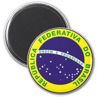 Brazil_ Ímã Redondo 5.08cm