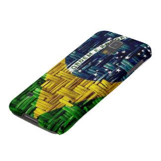 Brazilian Flag Cesto Capas Par Galaxy S5