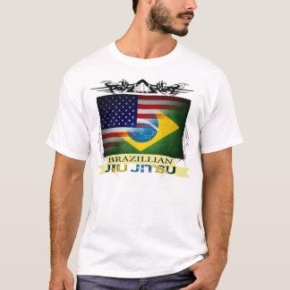 Brazillian Jiu Jitsu embandeira o t-shirt Camiseta