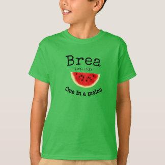 """Brea Califórnia """"uma camisa de um melão"""" para"""