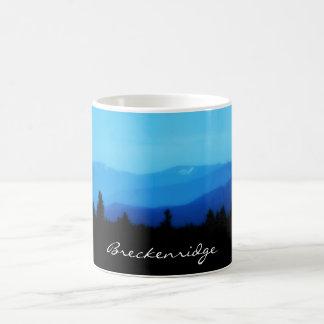 Breckenridge caneca de café da escala de dez