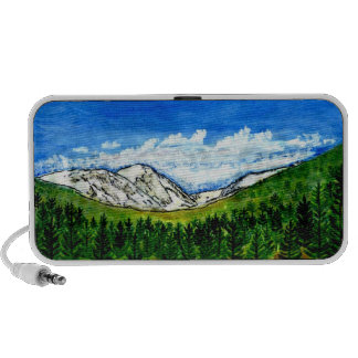 Breckenridge CO The MUSEUM Zazzle Gifts Doodle Travel Speaker
