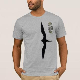 Brigada da fragata do vôo camiseta