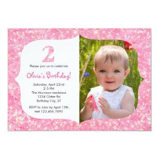 Brilha o segundo convite do aniversário
