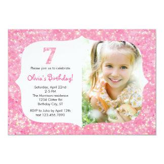 Brilha o sétimo convite do aniversário