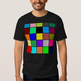 Brilhante, colorido, corajoso camisetas