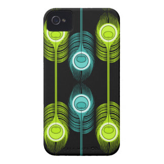 Brilhante como uma pena (preto) capinhas iPhone 4