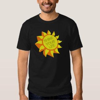 Brilhe sua vida t-shirt