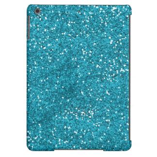 Brilho à moda do azul de turquesa capa para iPad air